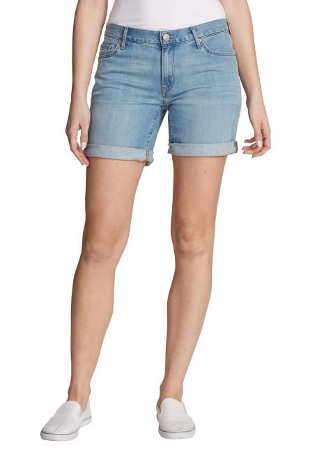 Boyfriend Jeans-Shorts
