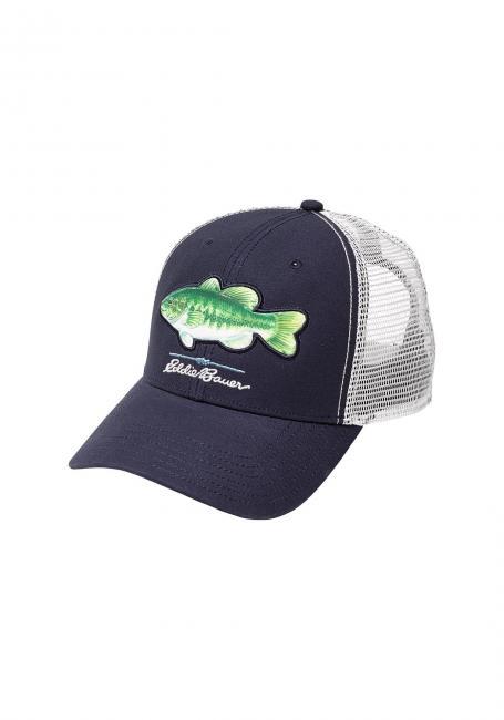 Cap mit Fischmotiv