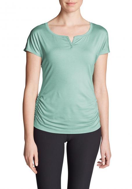Infinity Shirt - Gerafft - Kurzarm