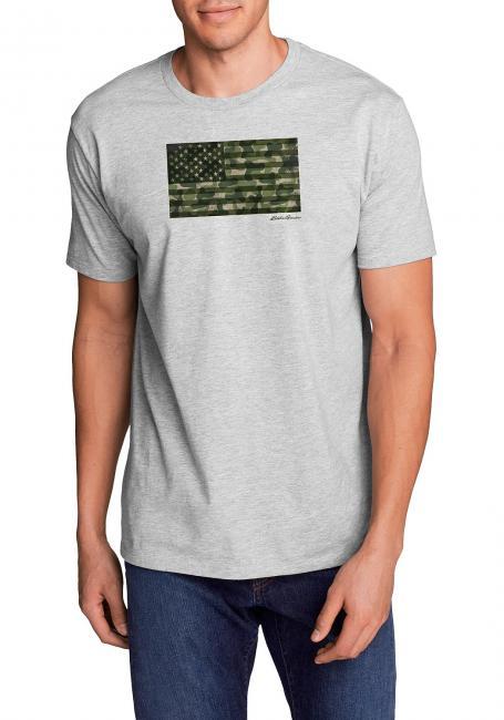 T-Shirt - Camo Flag