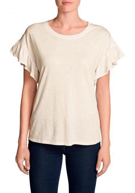 Willow Shirt mit Kurzarm und Rüschen