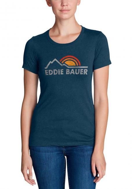 T-Shirt mit Logoprint Vintage EB