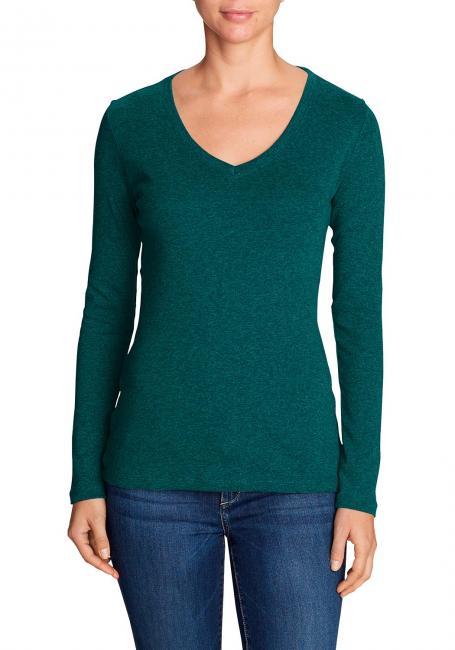 Favorite Shirt - Langarm mit V-Ausschnitt