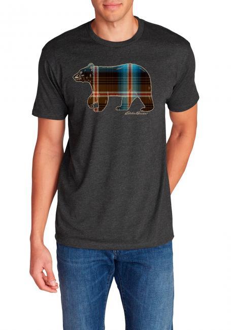 T-Shirt - Plaid Bear