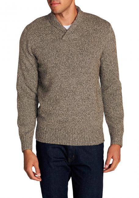 Interlodge Pullover mit Schalkragen