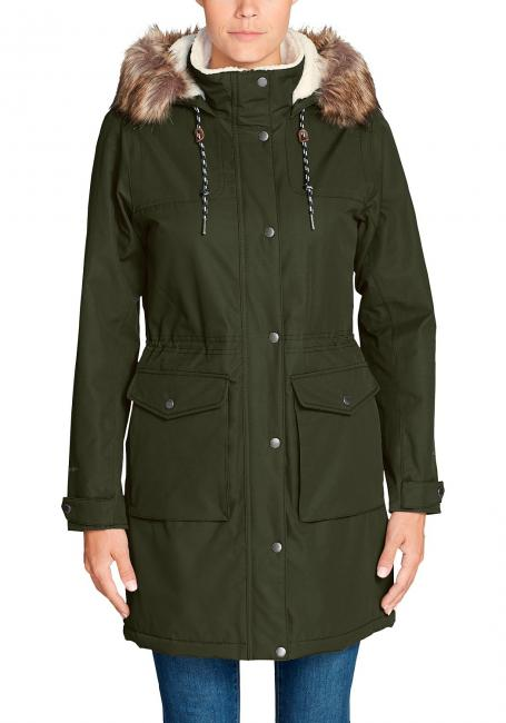 Charly Parka mit Sherpa-Fleecefutter