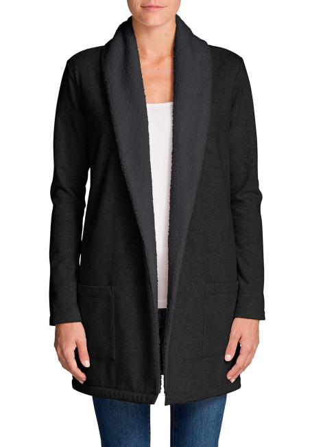Camp Fleece Cardigan mit Sherpa-Futter