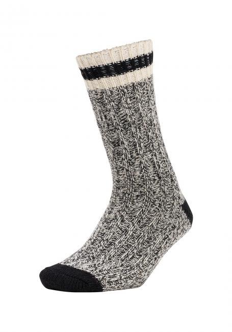 Ragg Crew-Socken mit Merinowolle
