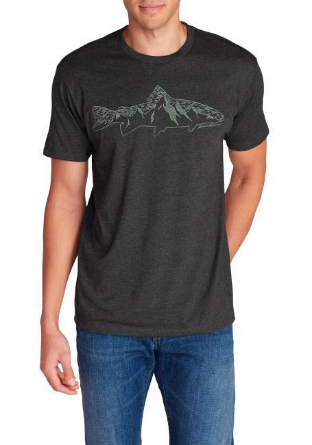 T-Shirt - Mountain Fish