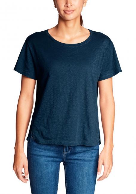Legend Wash Slub Shirt - Kurzarm mit Rundhalsausschnitt