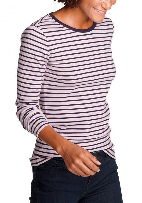 Favorite Shirt - Langarm mit Rundhalsausschnitt - geringelt
