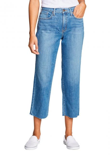 ORIGINAL HIGH RISE STOVEPIPE CROP JEANS