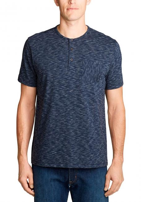 Legend Wash Pro Henley - Kurzarm - Spacedye
