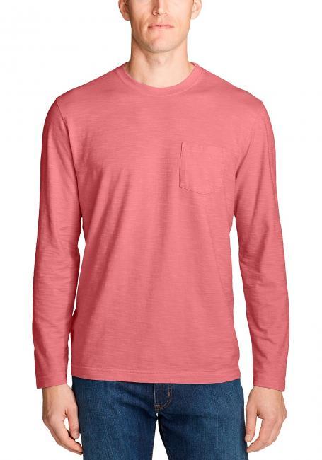 Legend Wash Slub-Shirt - Langarm mit Tasche