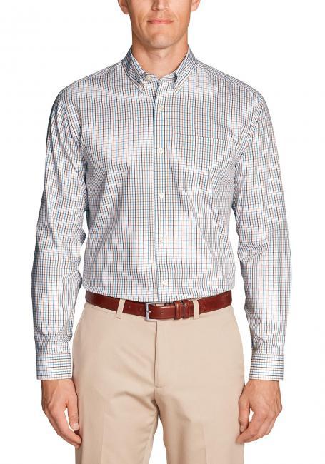 Knitterarmes Pinpoint Oxfordhemd - Langarm - Classic Fit - Gemustert