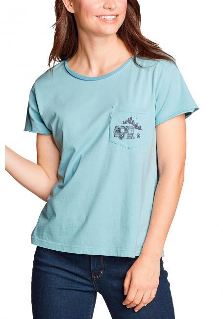Gypsum Easy Shirt - Kurzarm - mit Brusttasche