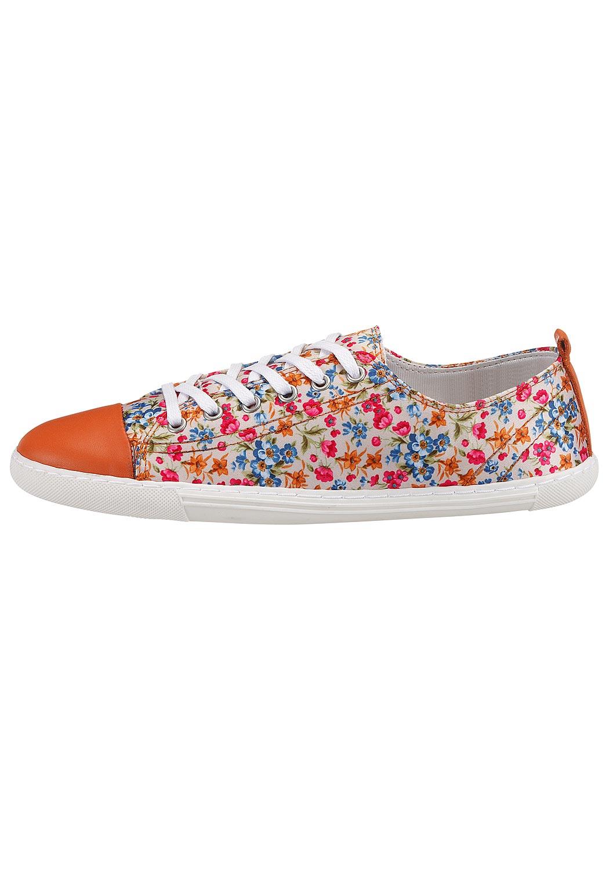 Sneaker mit Blumendruck