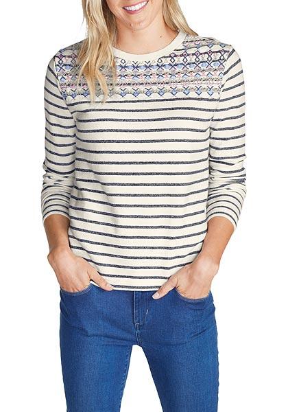 Sweatshirt bestickt - broschei