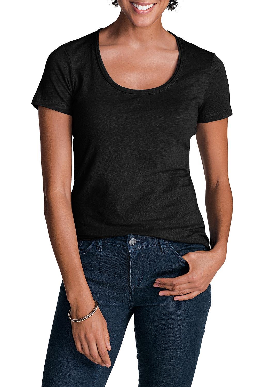 Essential Slub Shirt - Kurzarm mit Rundhalsausschnitt jetztbilligerkaufen