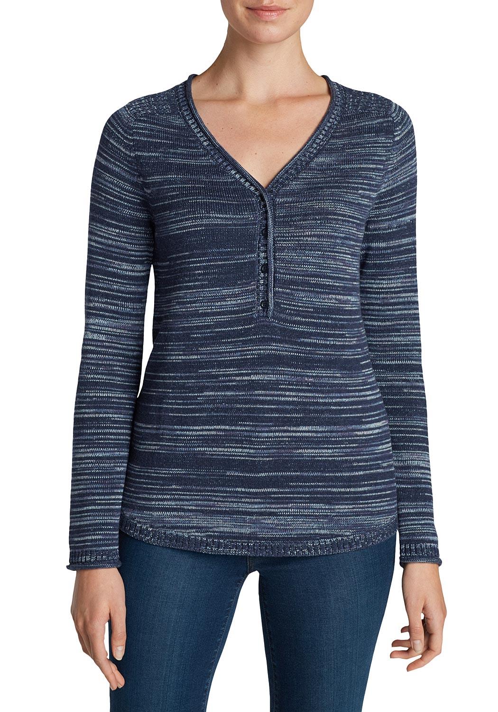 Henley-Pullover gemustert jetztbilligerkaufen