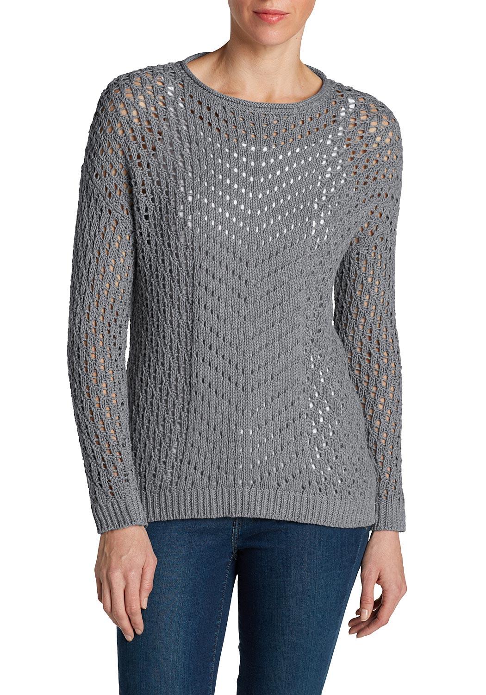 Pullover mit Lochstrick jetztbilligerkaufen