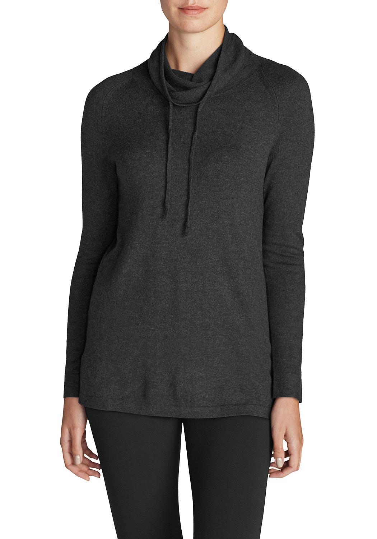 Pullover mit weitem Stehkragen jetztbilligerkaufen
