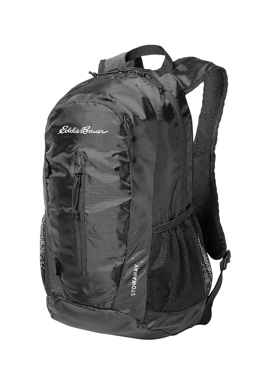 Eddie Bauer ® Stowaway packbarer Rucksack - 20L Schwarz Gr. 0